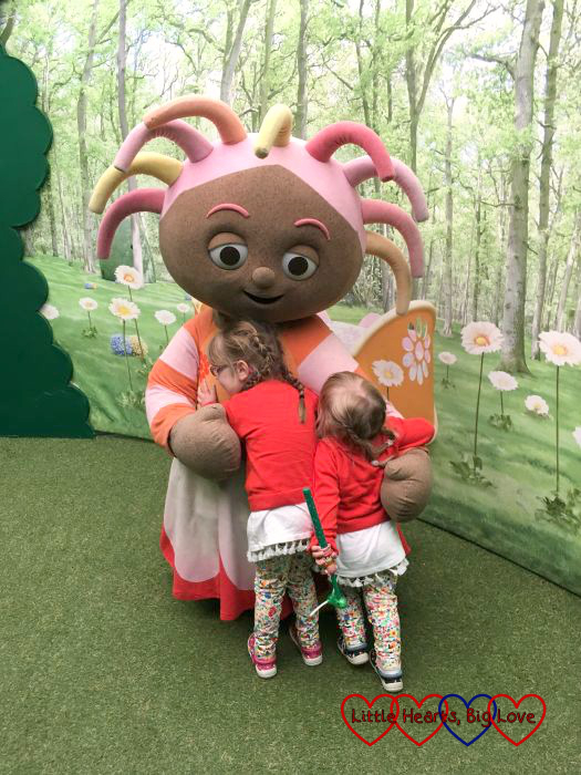 Meeting Upsy Daisy at In The Night Garden Live