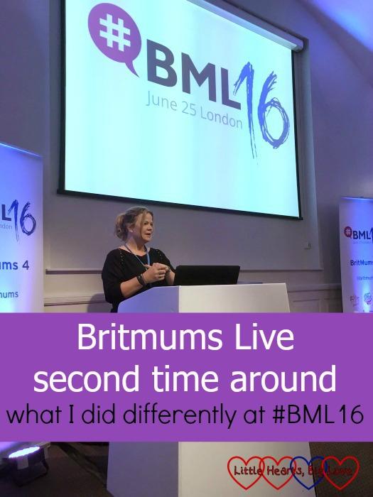 Amanda Jennings speaking at #BML16