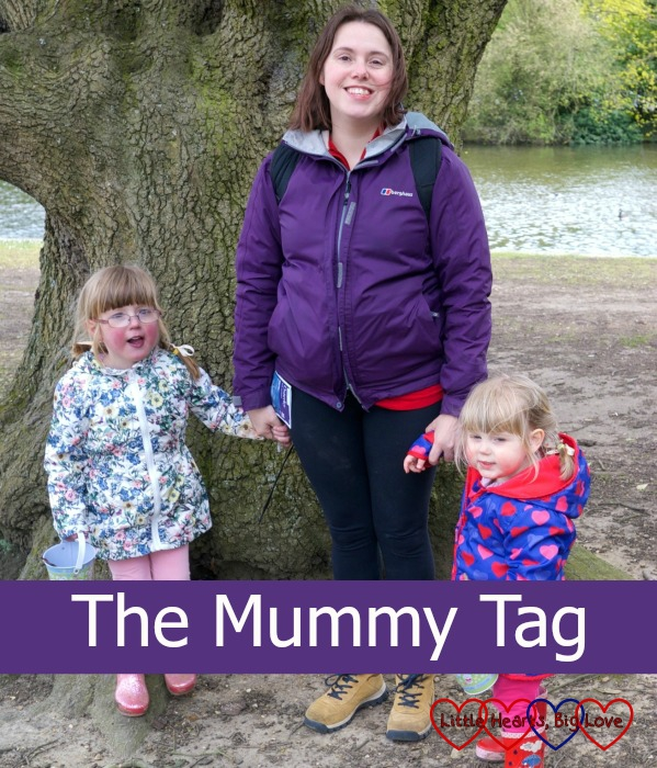 Me and my girls on a day out at Osterley Park - The Mummy Tag