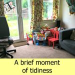 A brief moment of tidiness