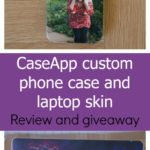 CaseApp custom phone case and laptop skin – review and giveaway