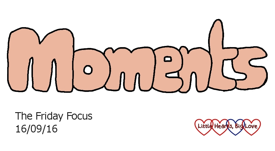 """Moments"" - this week's word of the week"