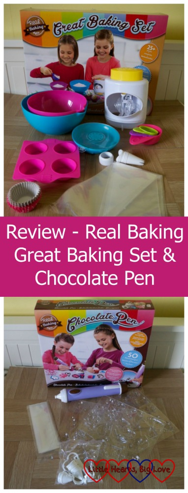 The Great Baking Set and Chocolate Pen from Vivid Real Baking