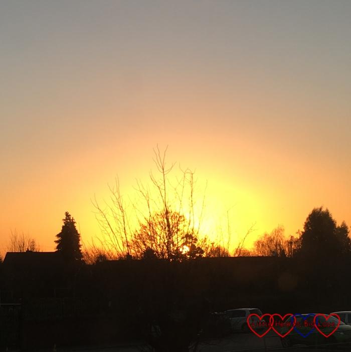 A pretty sunrise