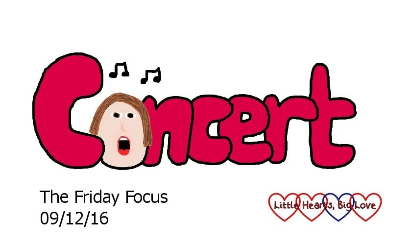 Concert - this week's word of the week