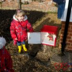 Hunting for Advent boxes at Hinton Ampner