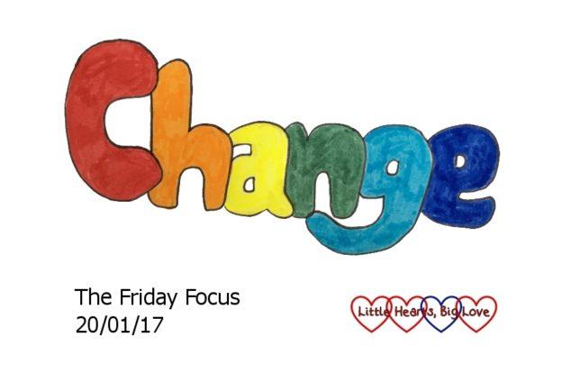 Change - this week's word of the week