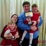 Me and Mine: January 2017 – A trophy for Sophie