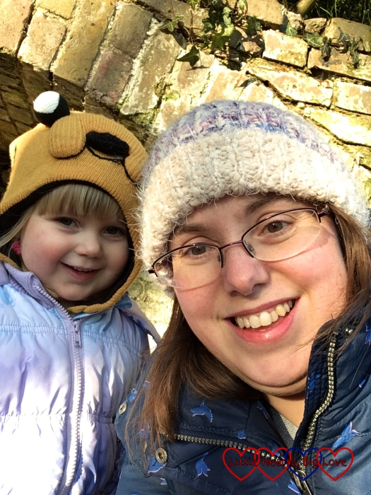A Mummy and Sophie selfie