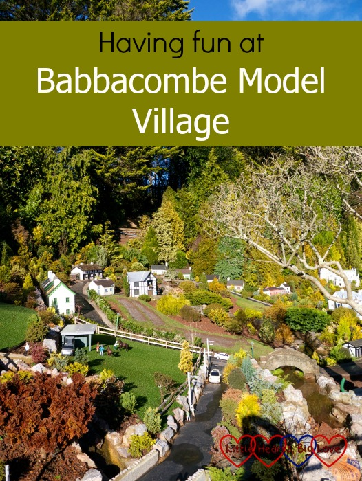 A view of one of the scenes in Babbacombe Model Village: Having fun at Babbacombe Model Village