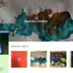 Children's Art Galleries – saving and storing your children's creations