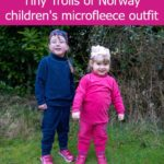 Review and giveaway – Tiny Trolls of Norway children's microfleece outfit