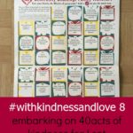 #withkindnessandlove 8 – embarking on 40acts of kindness for Lent