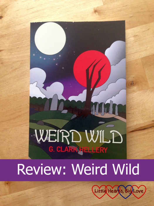The front cover of Weird Wild by G. Clark Hellery