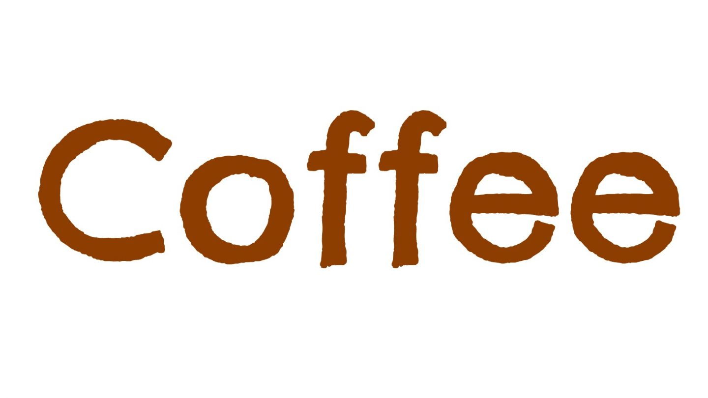 "The word ""coffee"""