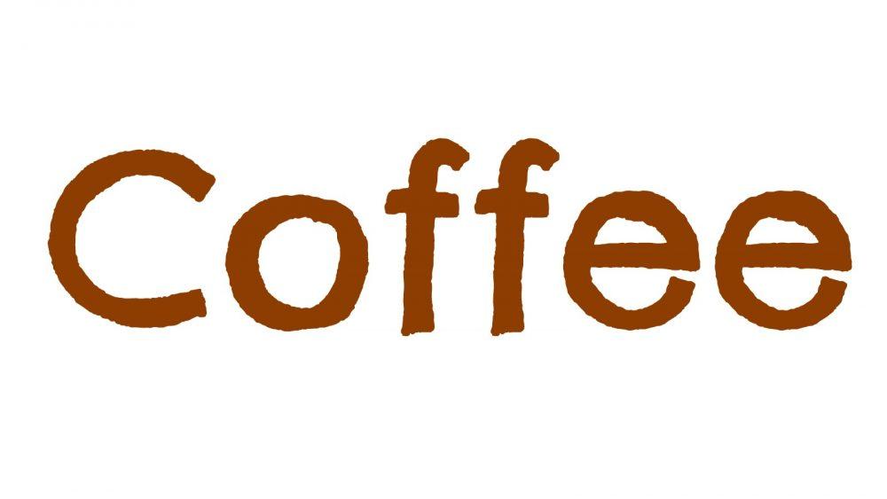 "The word ""coffee"""