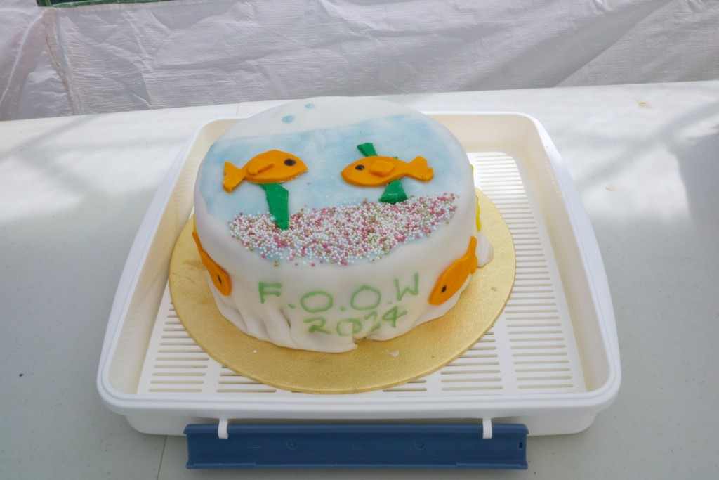 The fishbowl cake I made for the Families of Ocean Ward day out