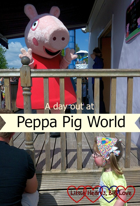 "Jessica with Peppa Pig - ""A day out at Peppa Pig World"""