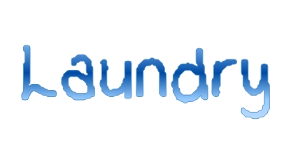 Laundry - this week's word of the week