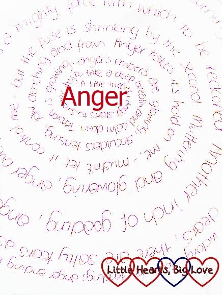 Anger - a spiral poem
