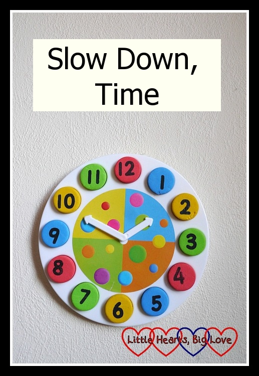 Slow Down, Time - Little Hearts, Big Love