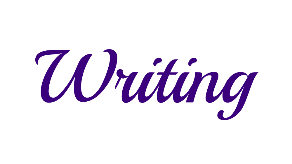 Word of the Week 04/07/14 – Writing