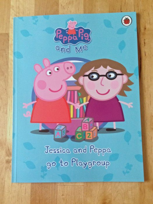 Jessica and Peppa go to Playgroup book cover