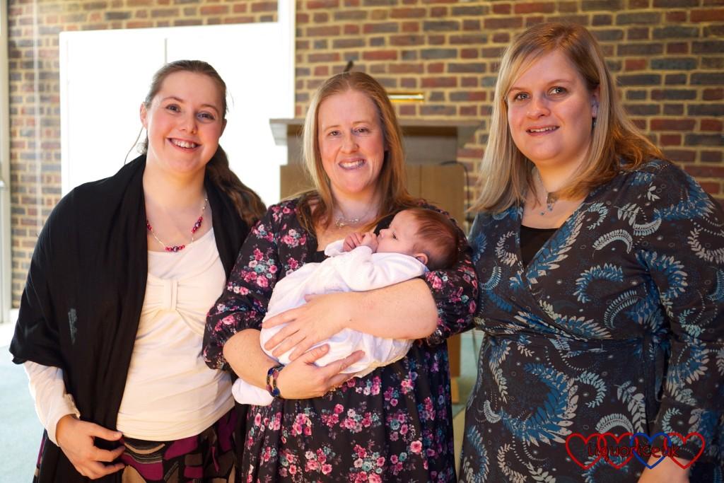 Me, Katy (holding Jessica) and Gillian