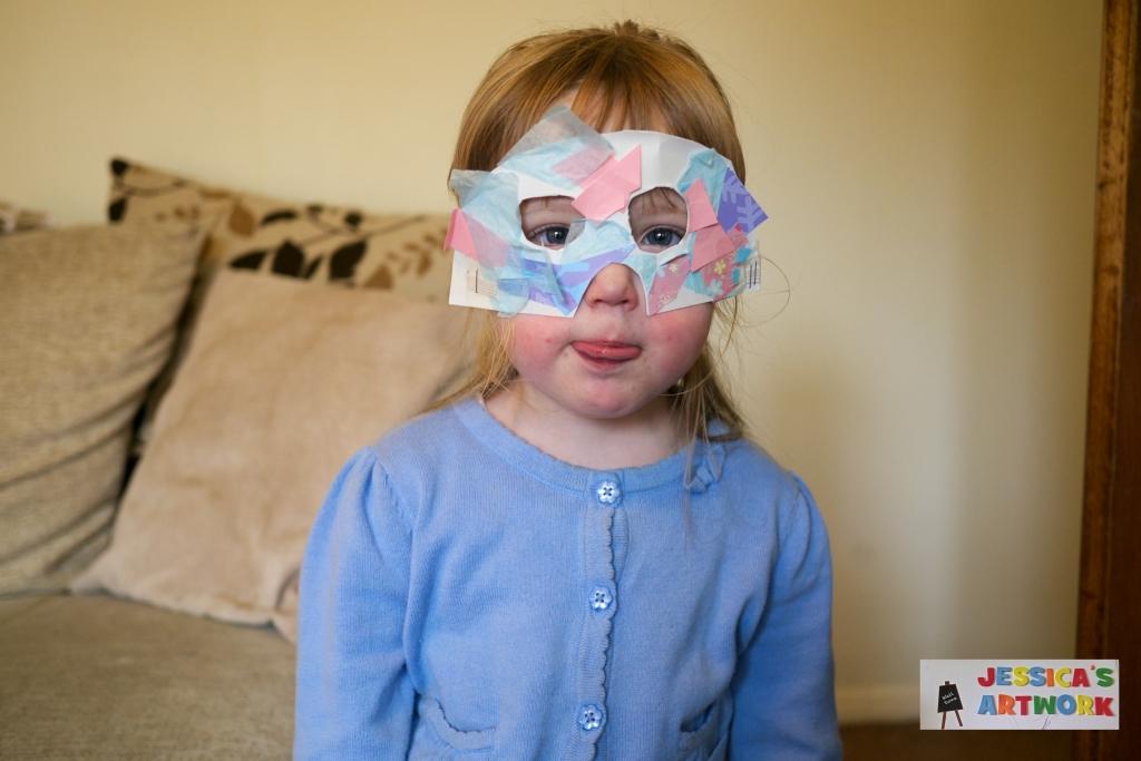 Mini creations: Masks - Little Hearts, Big Love
