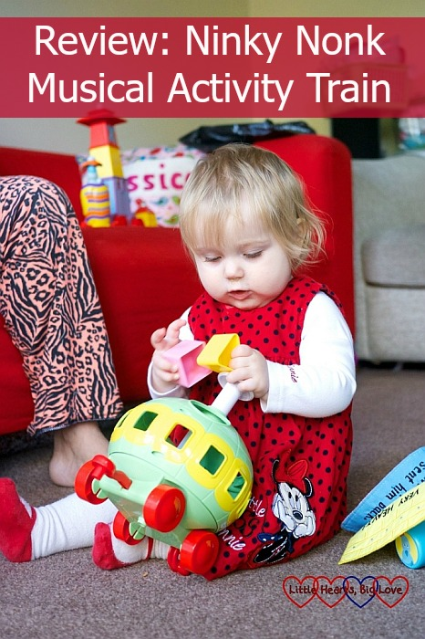 Review: Ninky Nonk Musical Activity Train - Little Hearts, Big Love