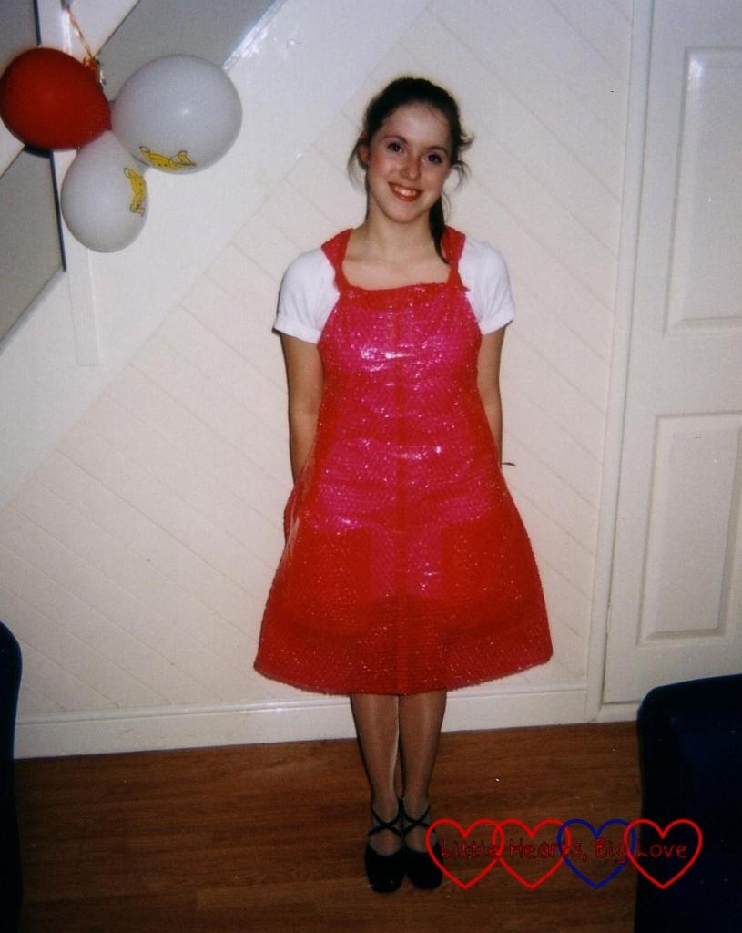 Bubblewrap dress