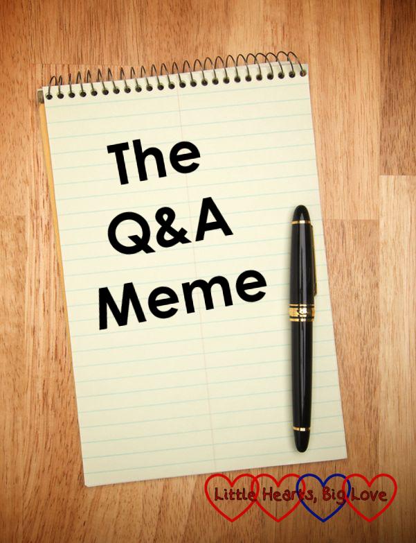 Q&A Meme