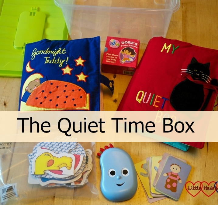 The Quiet Time Box - Little Hearts, Big Love