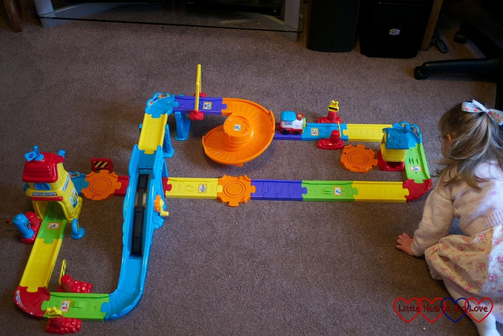 Review: VTech Toot Toot Drivers Train Station - Little Hearts, Big Love