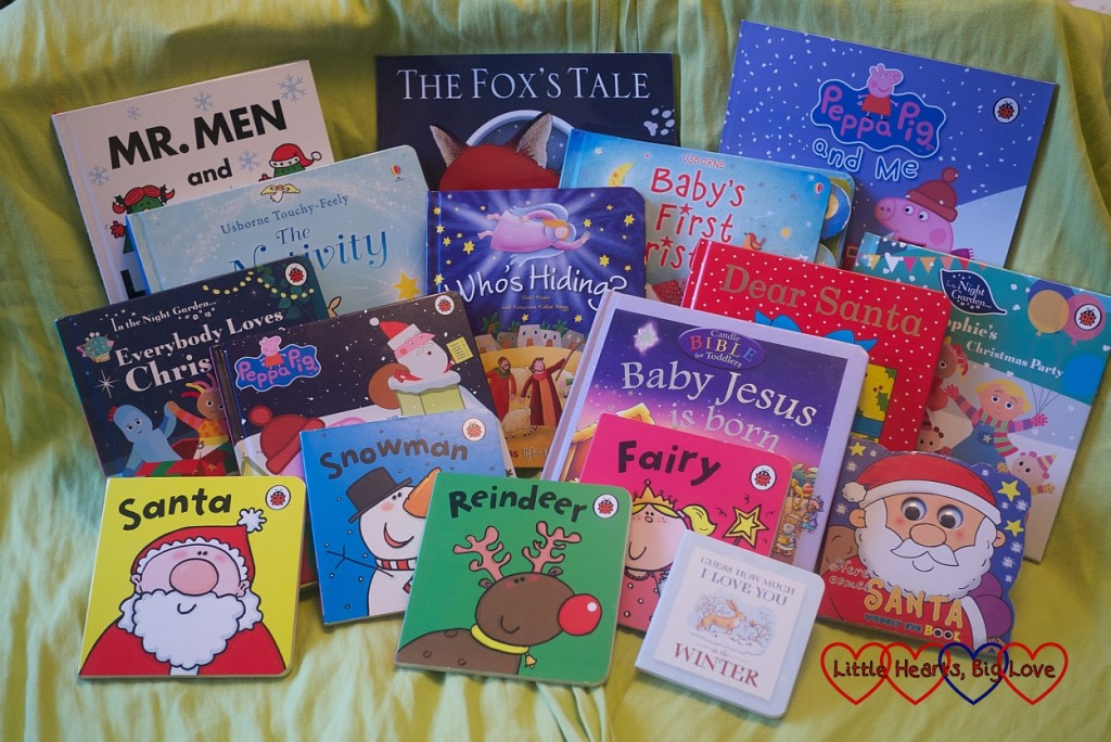 31 days of Christmas books - Little Hearts Big Love, musings of a heart mummy