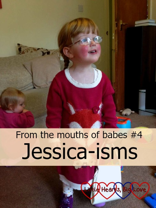 Jessica-isms - Little Hearts, Big Love