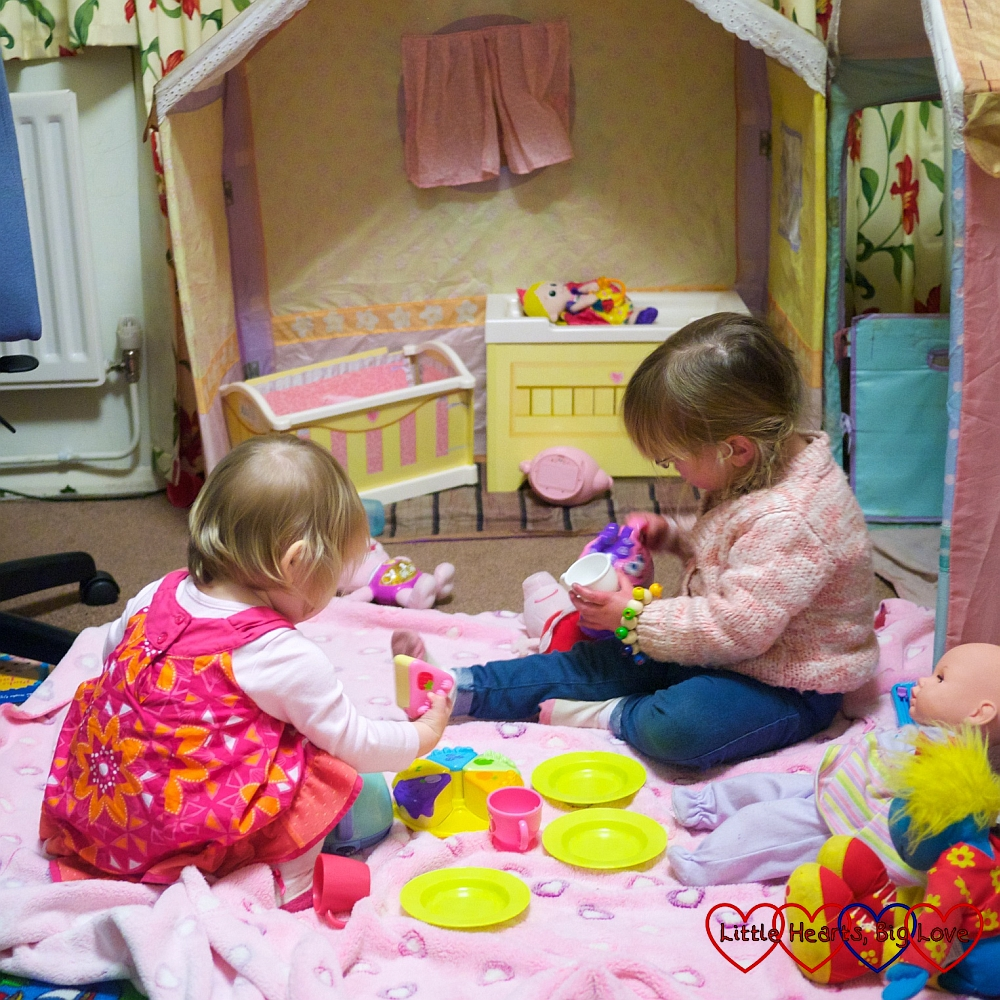 Rose Petal Cottage Playhouse - Little Hearts, Big Love