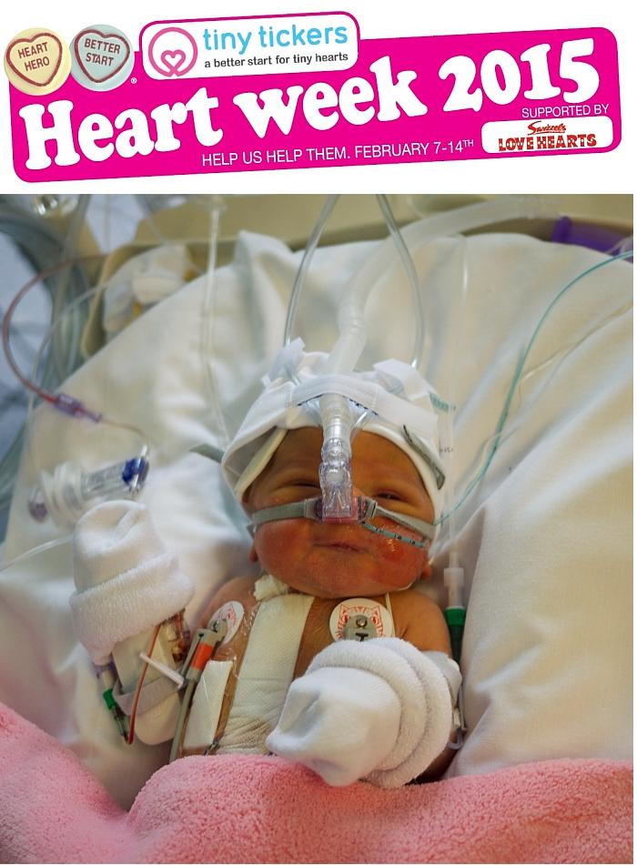 Tiny Tickers - Heart Week 7th-14th February 2015 - Little Hearts, Big Love