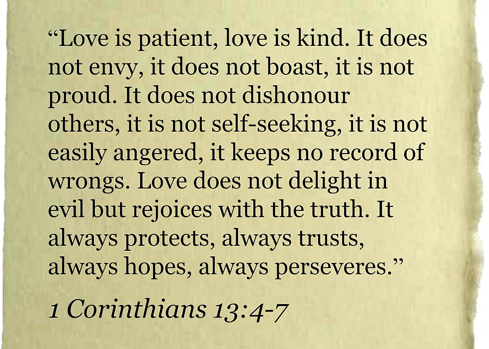 1 Corinthians 13 Wedding Reading.Me And You February Revisiting Our Marriage Vows Little Hearts