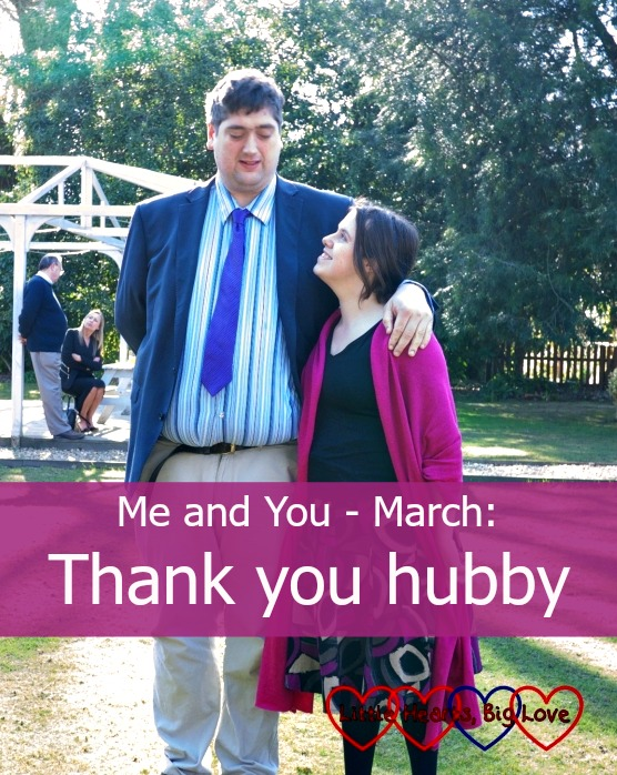 Me and You - March: Thank you hubby - Little Hearts, Big Love