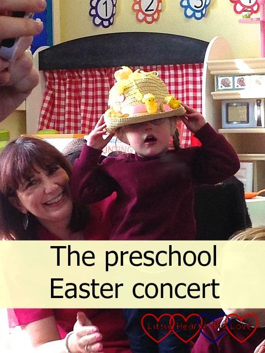 The preschool Easter concert - Little Hearts, Big Love
