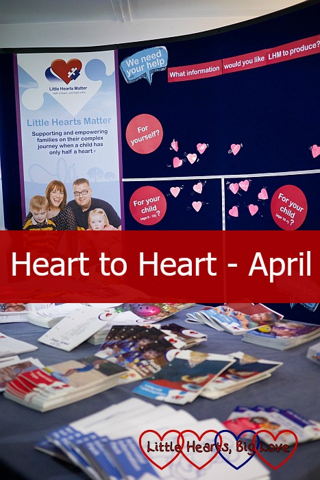 Heart to heart: April - Little Hearts, Big Love