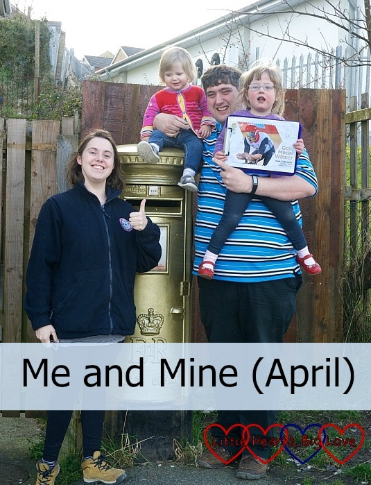 Me and Mine (April) - Little Hearts, Big Love