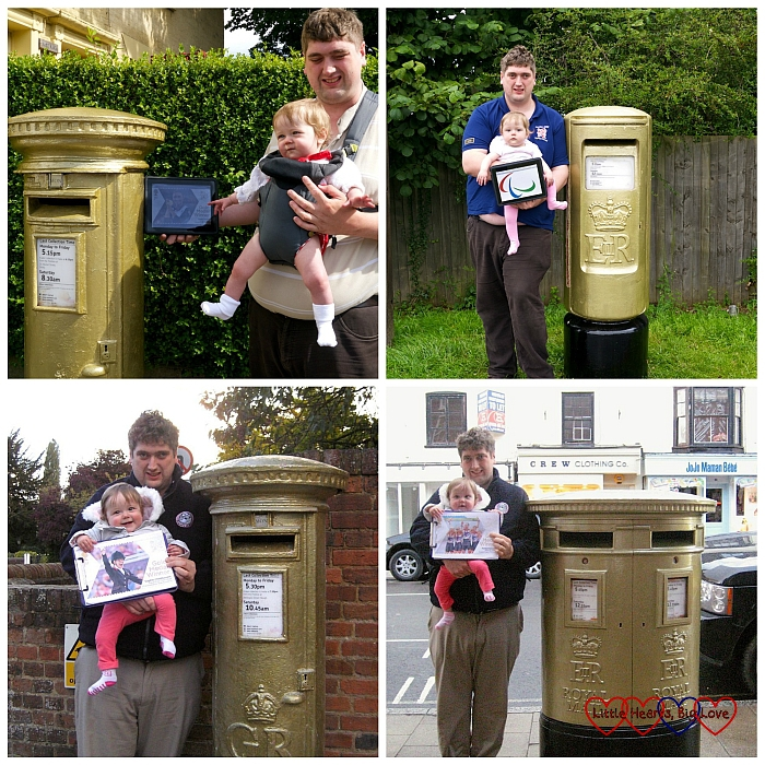 The Paralympic Gold Postbox Challenge - Little Hearts, Big Love