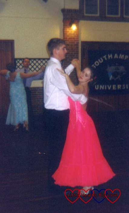 The A to Z of me - B is for ballroom dancing - Little Hearts, Big Love