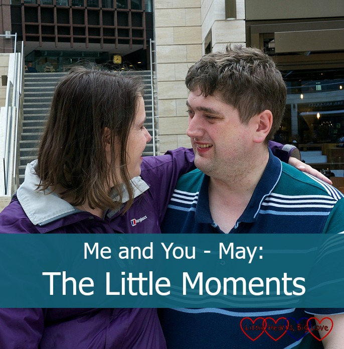 Me and You - May: The Little Moments - the brief moments that marriage is all about -  Little Hearts, Big Love