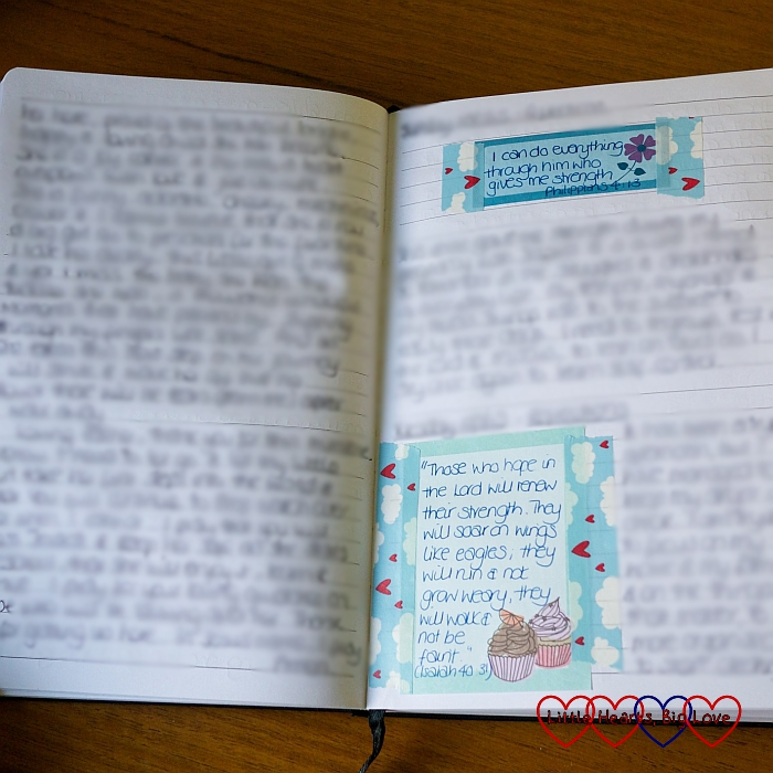 Papery Peep (May) - what I'm writing this month - Little Hearts, Big Love
