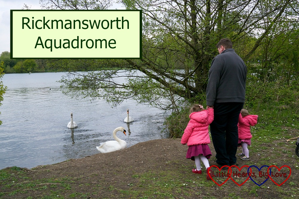 An afternoon at Rickmansworth Aquadrome - Little Hearts, Big Love