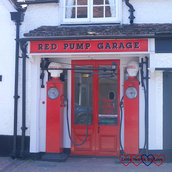 The Red Pump Garage which inspired the filling station in Danny, the Champion of the World