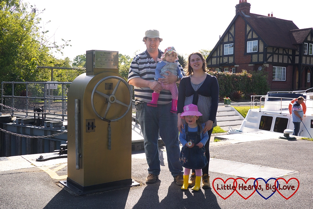 Gold lock gate control at Boveney Lock: The Friday Focus 22/05/15 - Little Hearts, Big Love